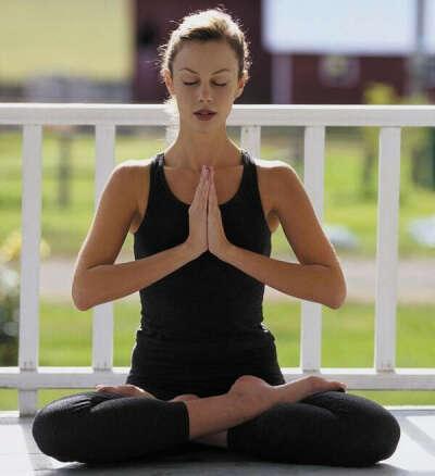 Yoga class visiting