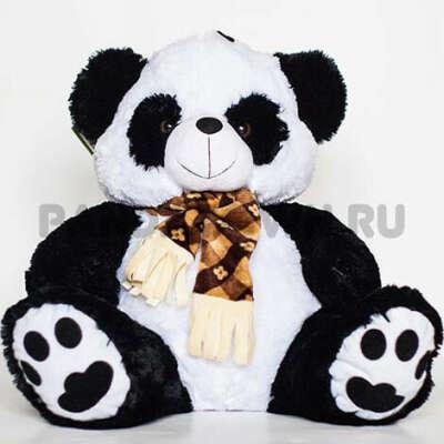 Игрушка Панда с шарфом