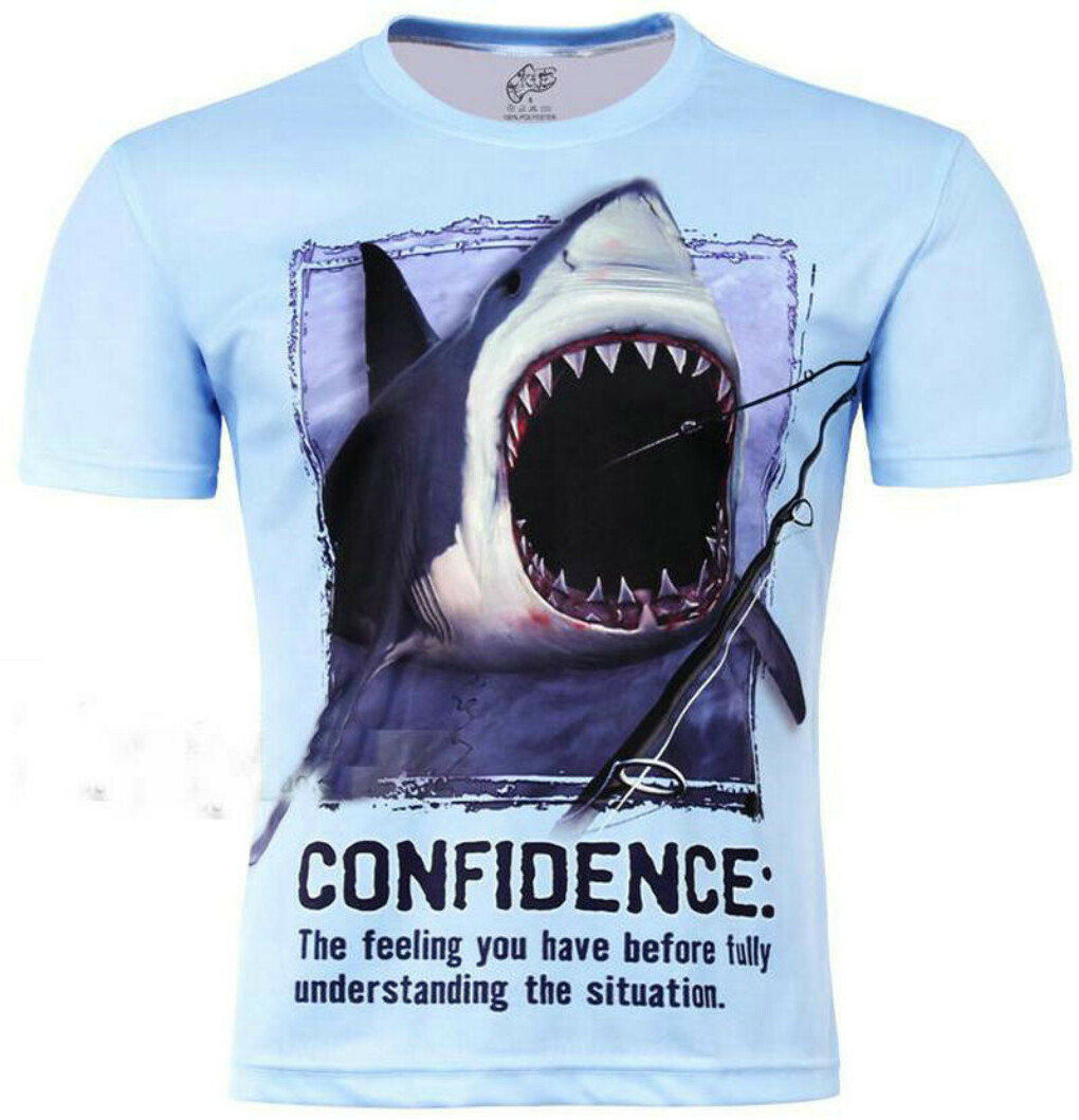 Men's Animal Creative T Shirt Shark/dolphin/penguin/piranha 3d printed short sleeve T Shirt Large Size  купить на AliExpress