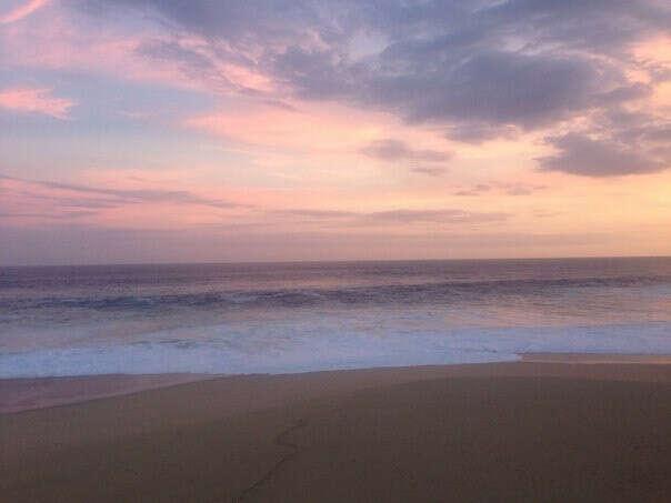 Встретить рассвет/закат на море