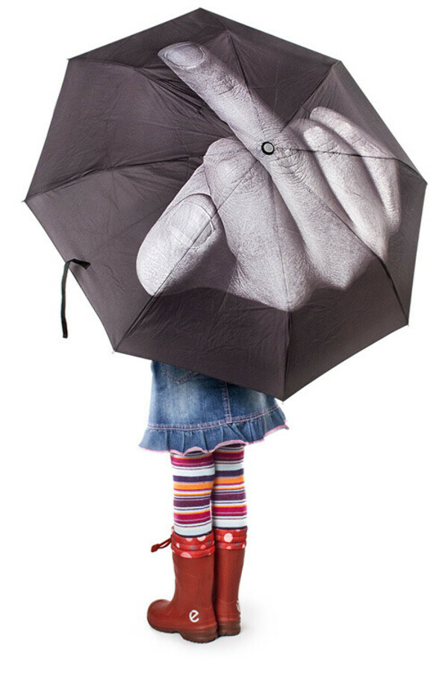 Зонт «Фак дождю»