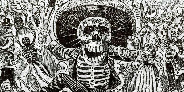 Побывать на Día de los Muertos в Мексике