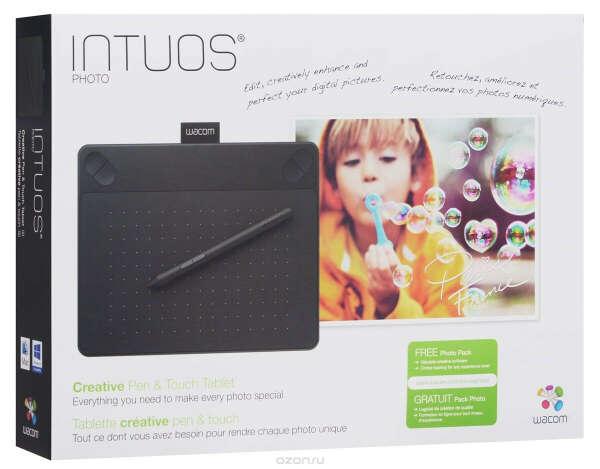 Wacom Intuos Photo PT S, Black графический планшет (CTH-490PK-N)