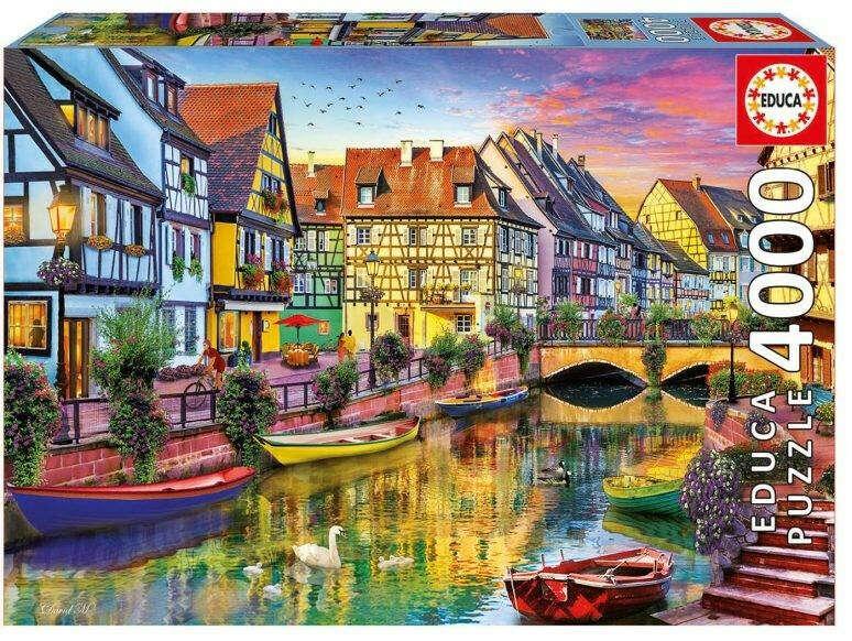Пазл Canal de Colmar (Канал Кольмар) 4000 деталей