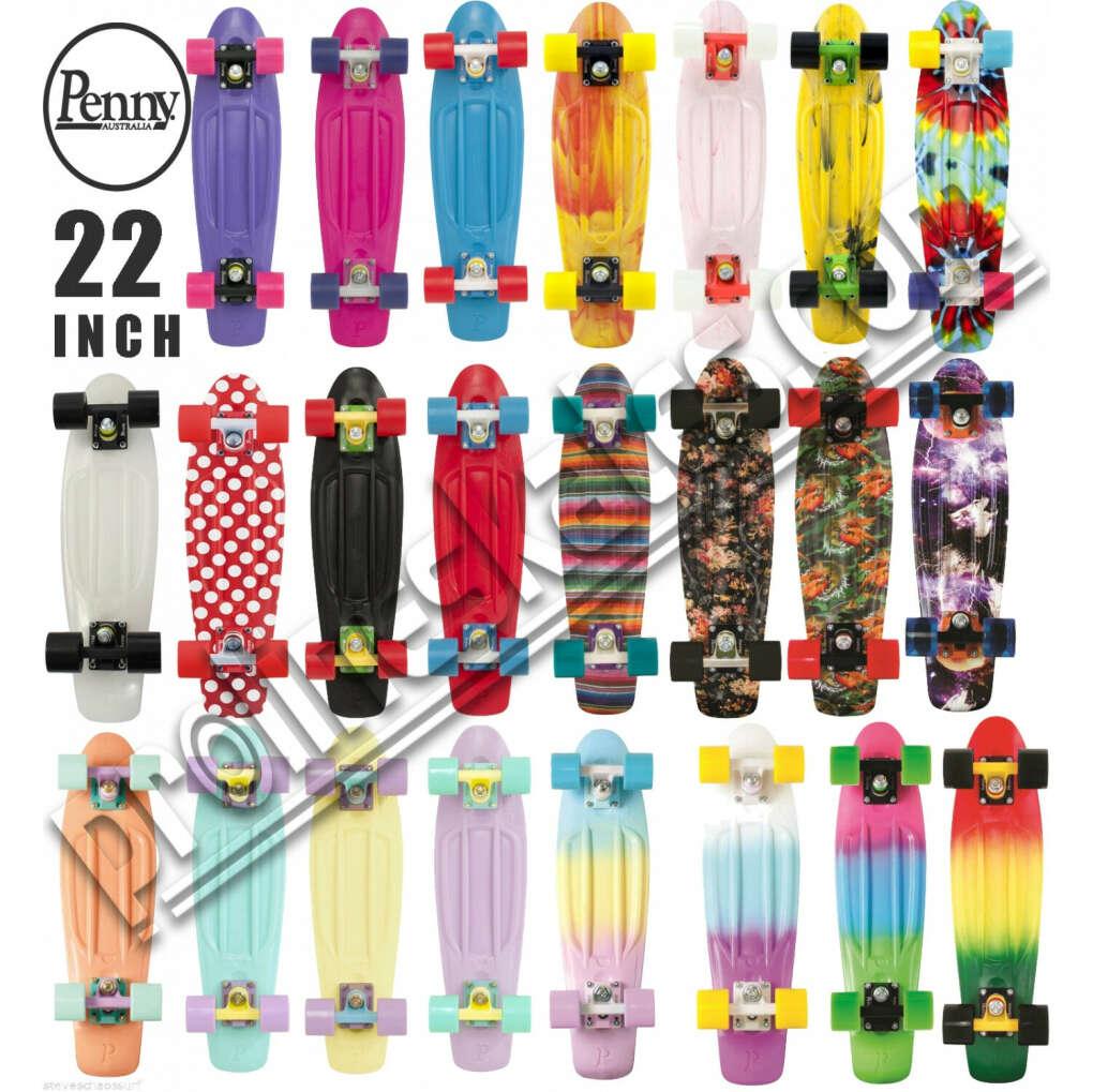 "Original Penny 22"" Skateboard Cruiser Skate Board + Free Penny Cap"