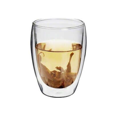 Чашки из стекла с двойными стенками 500мл