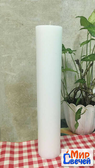 свеча столбик каминный 74*h400мм