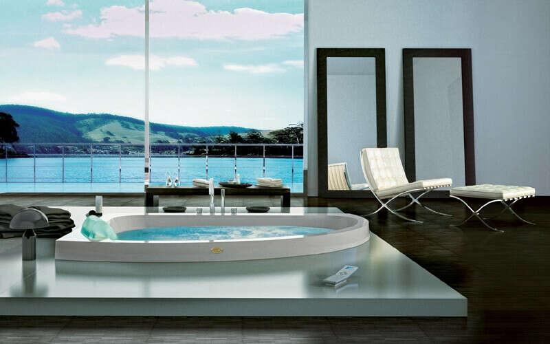 ванну с джакузи