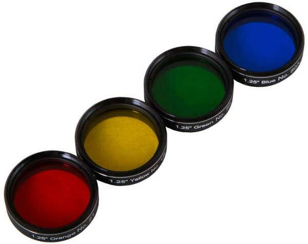 Набор светофильтров Bresser Explore Scientific N2 (12, 21, 56, 80А)