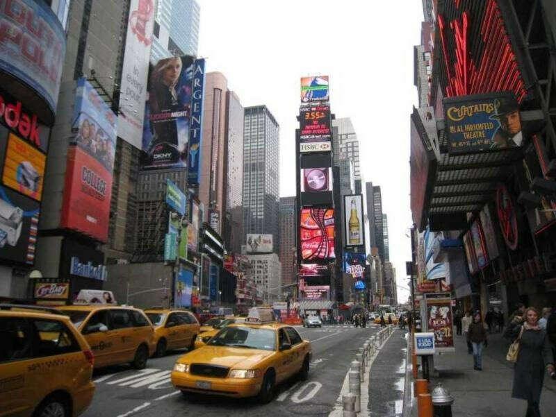 побывать в Нью Йорке