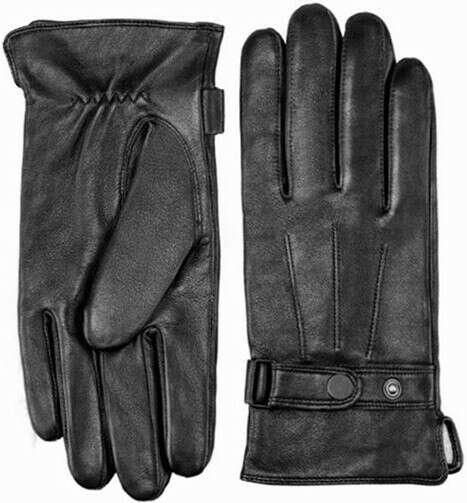 Сенсорные кожаные перчатки Xiaomi Mi Qimian Touch Gloves (L) Мужские