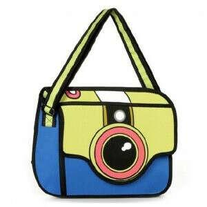 Сумка-фотоаппарат 2D