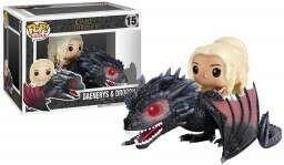 Фигурка Funko POP: Rides Game Of Thrones – Daenerys & Drogon (9,5 см)
