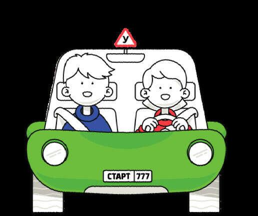 Научиться водить машину и получить права