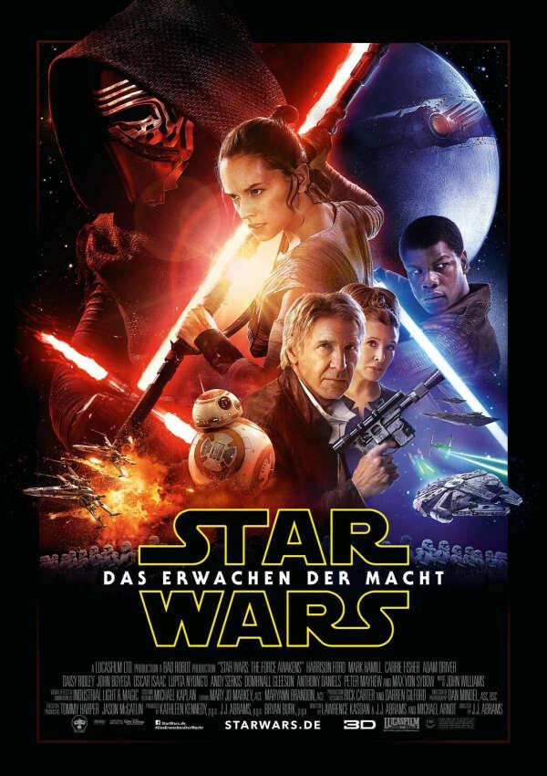 Сходить в кино на Star Wars: Episode VII - The Force Awakens!