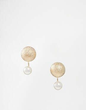 Серьги-подвески ограниченной серии с фактурными шариками