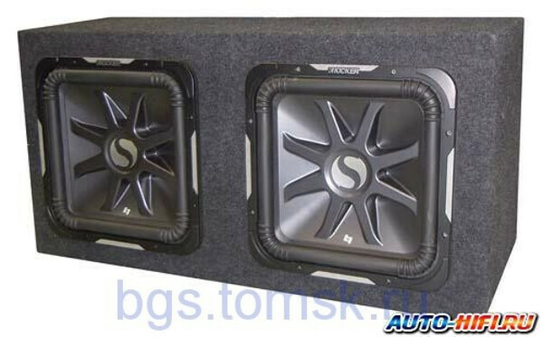 Сабвуфер  Kicker S15L7x2 box