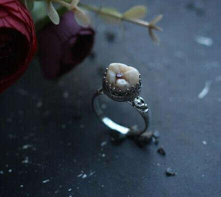 Кольцо с моим зубом 🦷