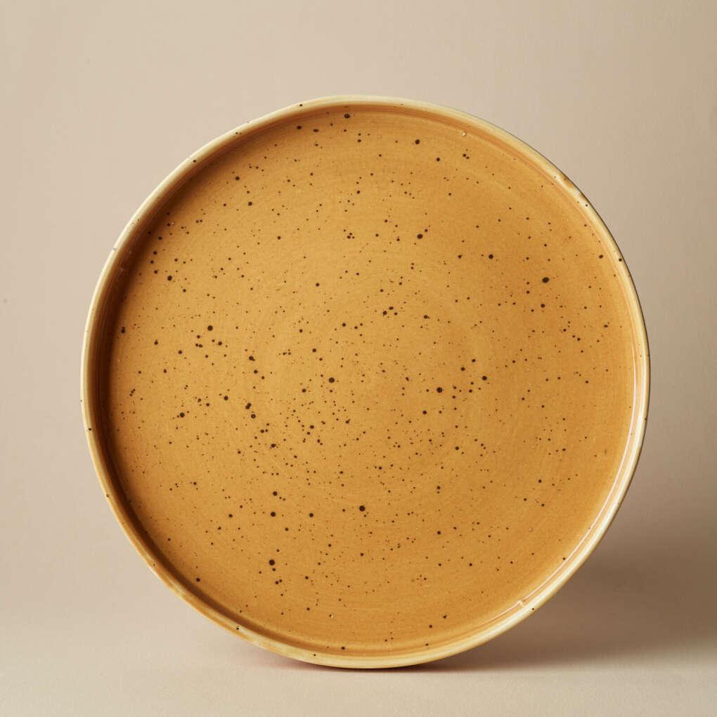 """Тарелка """"Горчица"""", 20 или 26  см — Agami Ceramics (или плошка """"горчица"""")"""