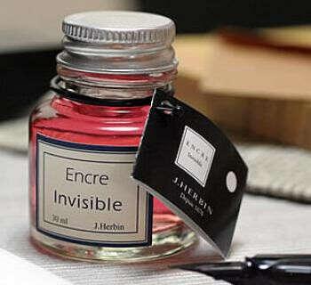 """Invisible Ink (""""Encre Sympathique"""")"""