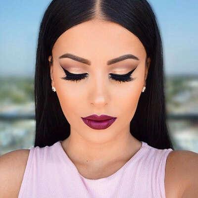 Научиться смелому макияжу