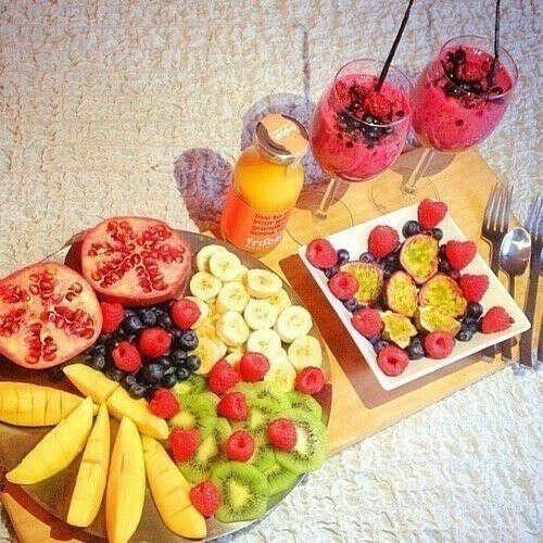 Свежие фрукты каждый день