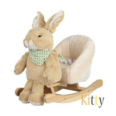 Детское кресло-качалка Rock My Baby 3в1 Кролик