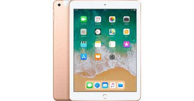 iPad, Wi-Fi+ Cellular, 32ГБ, золотой