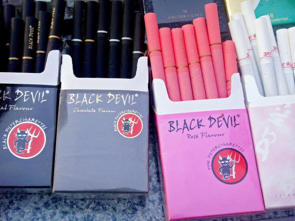 Black devil розовые сигареты купить купить джул электронная сигарета ростов