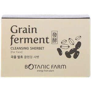 Botanic Farm, Grain Ferment Cleansing Sherbet For Face,