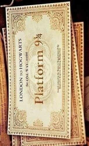 Билет в Хогвартс