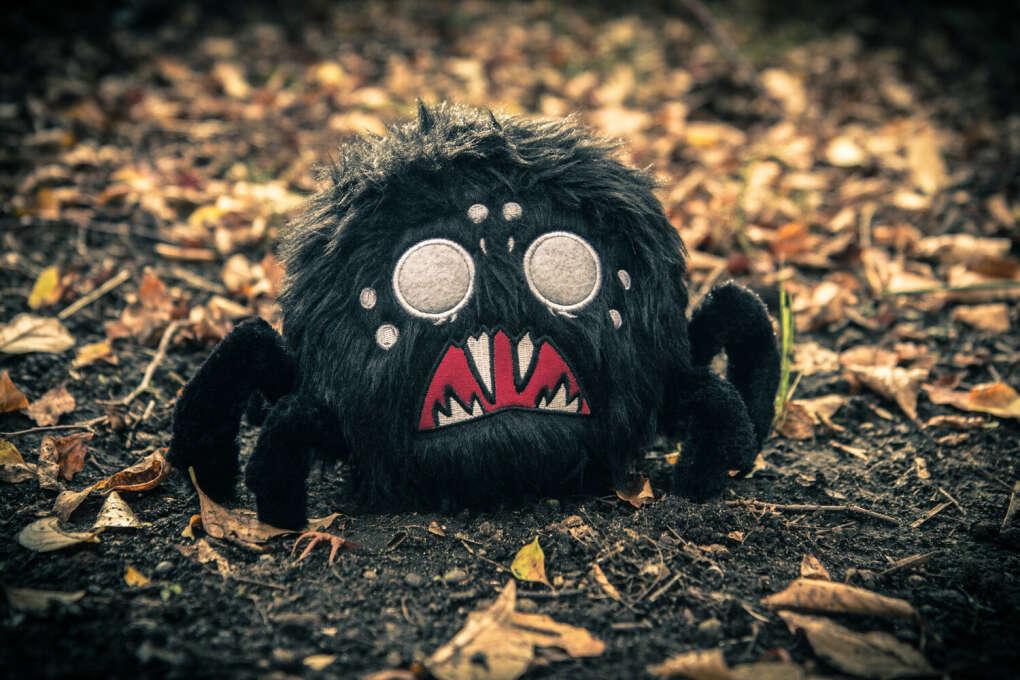 Don't Starve: Spider Plush (Black)