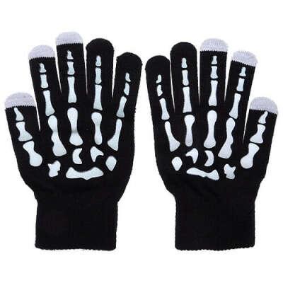 Перчатки для сенсорных экранов «Скелет»