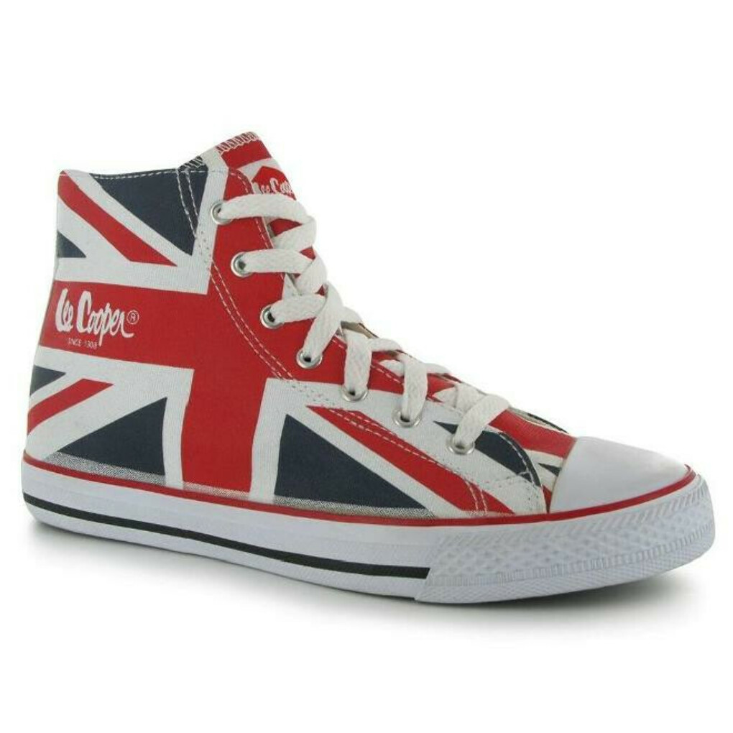 Кеды Lee Cooper с британским флагом