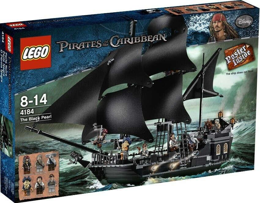 "Конструктор Lego Pirates of the Caribbean™ 4184 ""Чёрная жемчужина"""
