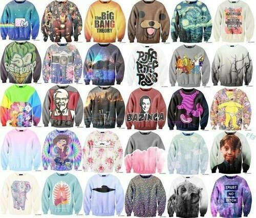 Кучу свитеров