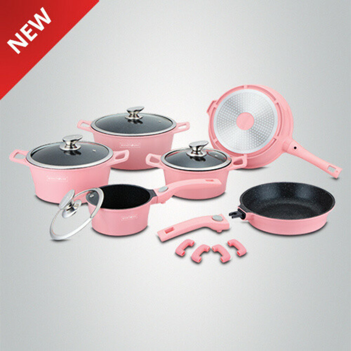 Набор розовой посуды RL-ES2014M