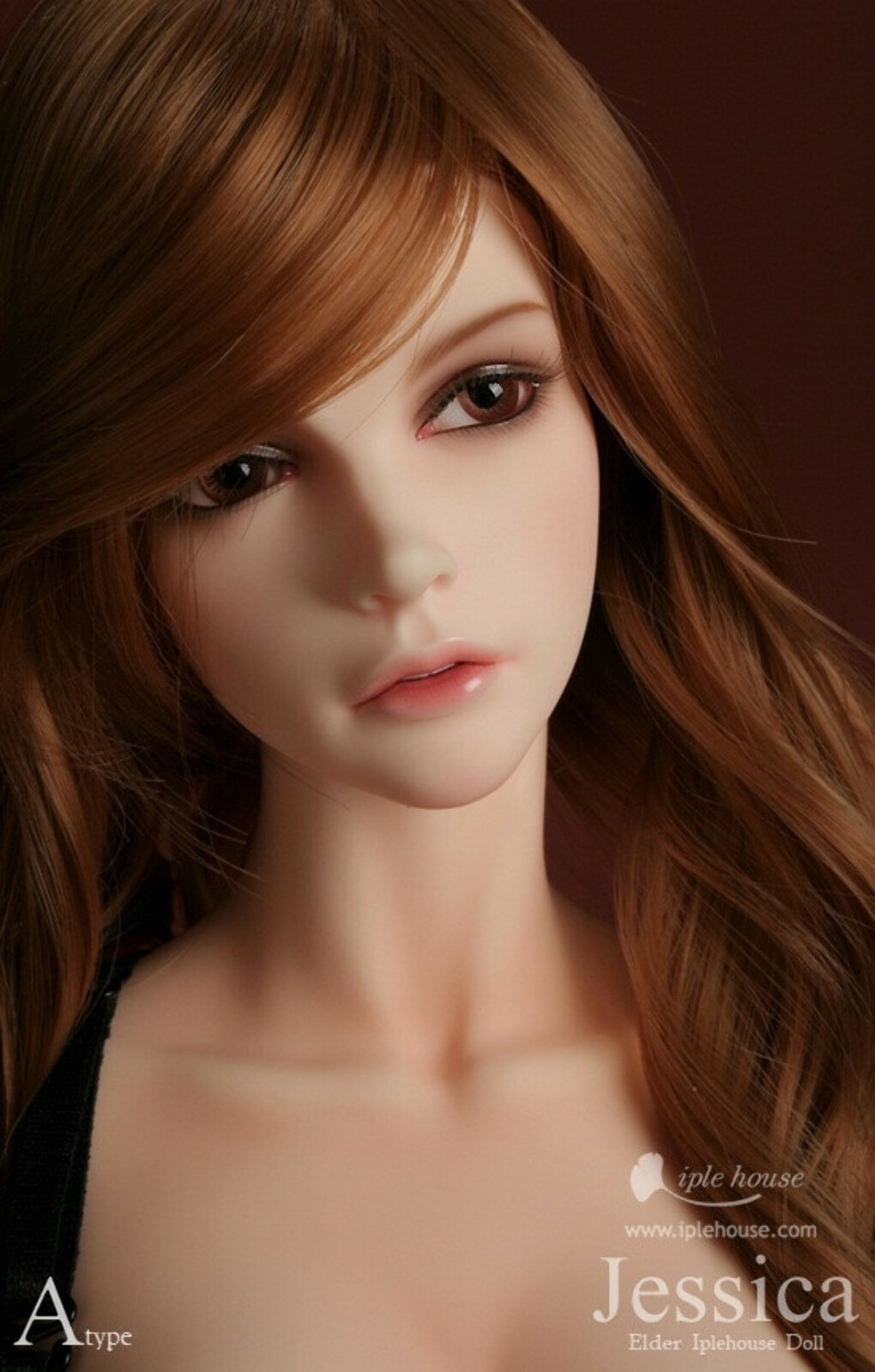 1/3 scale BJD nude doll about 60cm BJD doll girl Jessica.not include clothes;shoes and wig,Type A A15A291 купить на AliExpress