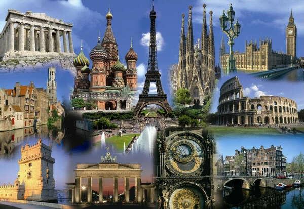 Тур по всей Европе