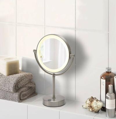 зеркало led light