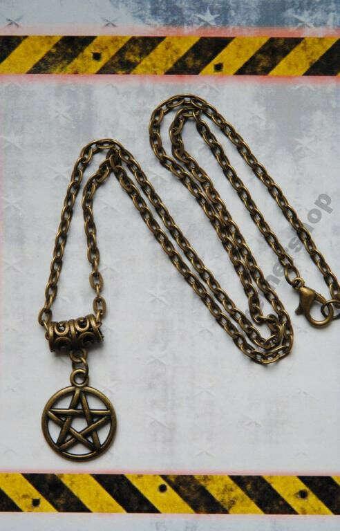 Кулон пентаграмма, Сверхъестественное
