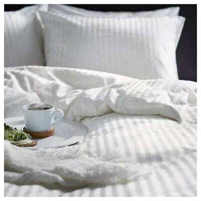 Двуспальное белое постельное белье НАТТЭСМИН IKEA