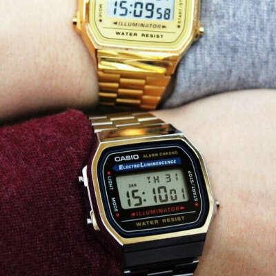 Casio Digital Bracelet Watch