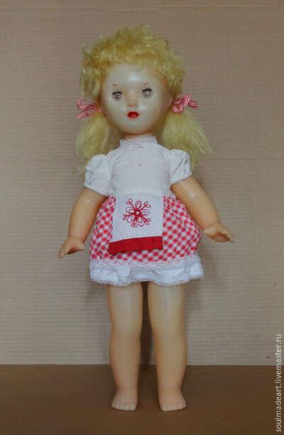 Кукла винтажная (СССР)