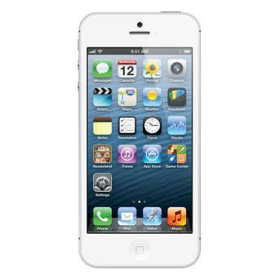 Смартфон Apple iPhone 5 32Gb White (MD300RU/A)