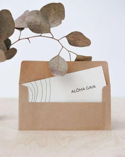 Подарочный сертификат Aloha Gaia