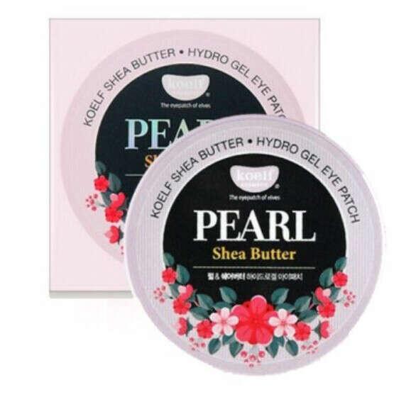 Гидрогелевые патчи для глаз Koelf Pearl & Shea Butter Eye Patch