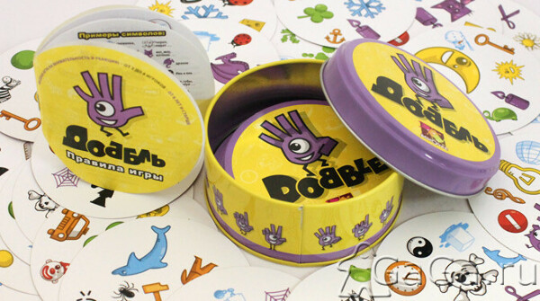 Карточная игра Доббль (Dobble)