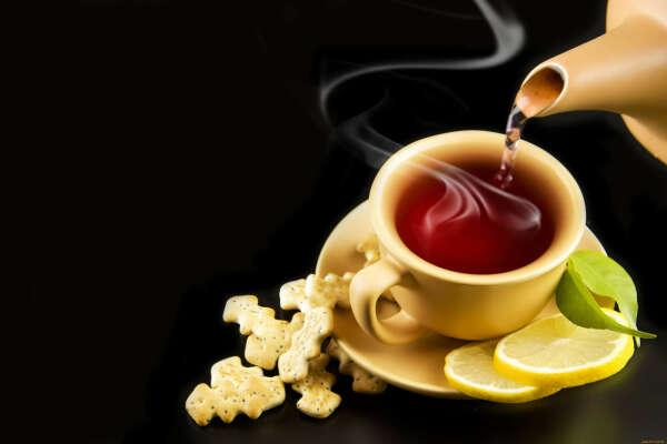 Вкусный чай