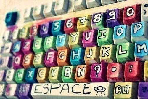 Разукрасить клавиатуру
